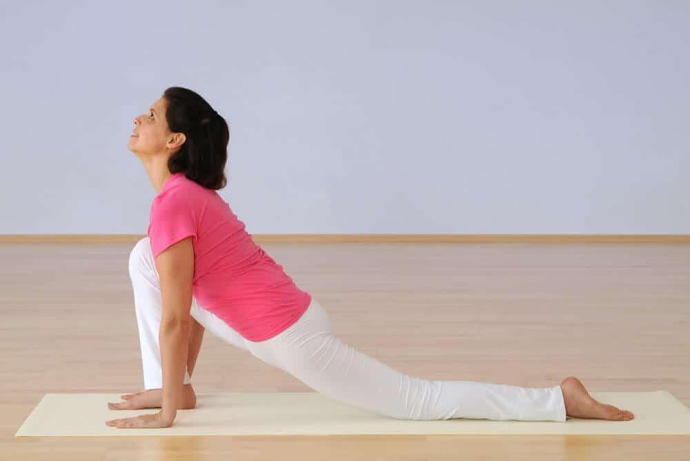 Online Live-Yogastunde - Sanft